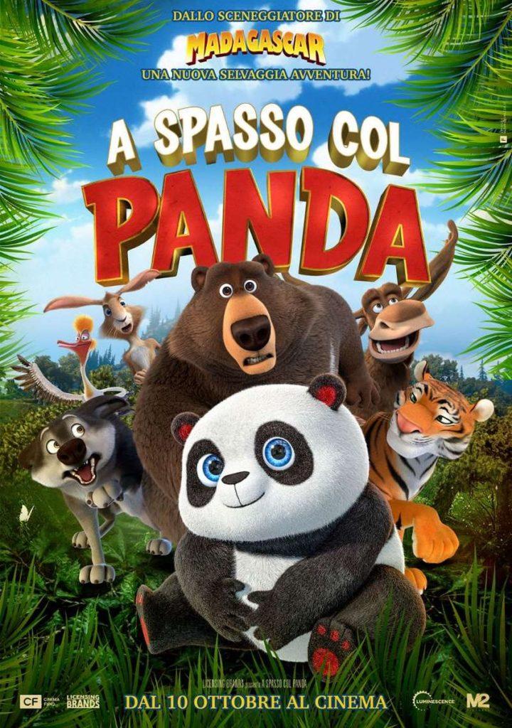 film a spasso col panda