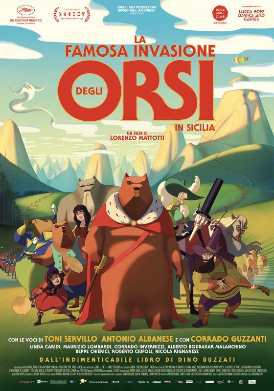 film la famosa invasione degli orsi in sicilia
